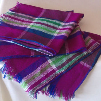 Mexican napkins Package with 4 piece, Folk Fabric napkins, Placemats