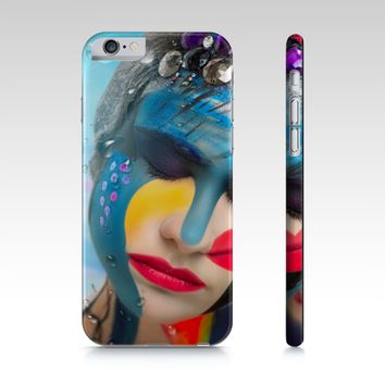 Body Paint Art Lady Emotion iPhone 6S /6 Cover