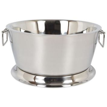 Double Walled Stainless Steel 17-Inch Beverage Tub