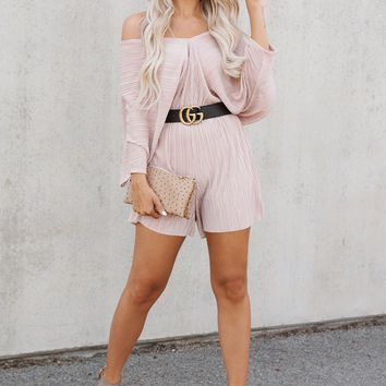 Royal Beauty Romper (Mauve)