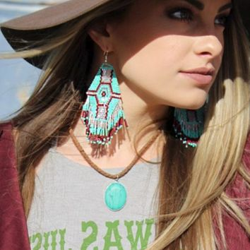 Cowboy Classic Earrings by Crazy Train