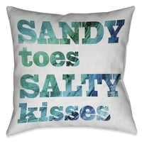 Sandy Toes Indoor Decorative Pillow