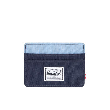 HERSCHEL SUPPLY CO CHARLIE POLY PEACOAT/LIMOGES WALLET