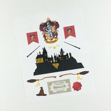 ECLP | Harry Potter | Gryffindor House | 11 stickers