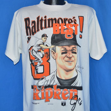 90s Baltimore's Best Cal Ripken Jr. #8 Orioles t-shirt Large