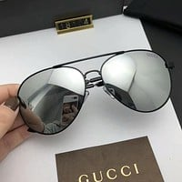 GUCCI Fashion New Polarized Women Men Business Sunscreen Glasses Eyeglasses