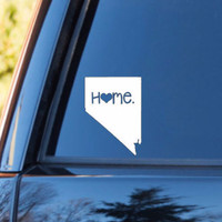 Nevada Home Decal | Nevada State Decal | Homestate Decals | Love Sticker | Love Decal  | Car Decal | Car Stickers | 068