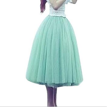 bad874bbd3 ABC Beauty Lace Women Tutu skirt Girl Bubble Skirt Princes Fairy 5 layered Tulle  Skirt Bouffant