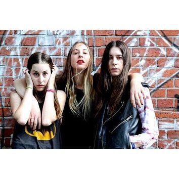 Haim poster Metal Sign Wall Art 8in x 12in