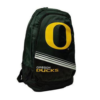 Licensed Oregon Ducks Official NCAA Stripe Core Backpack by Forever Collectibles 054424 KO_19_1
