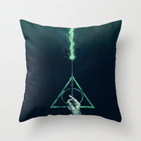 decorative pillow case Harry potter lord Voldemort magic wand 16, 18 or 20 inch Square Throw pillow case cover