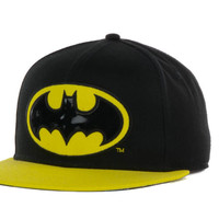 DC Comics Batman Basic Snapback Cap With PVC Logo