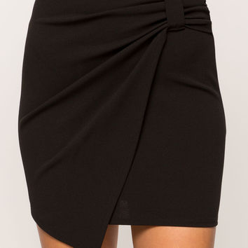 Knotty Mini Skirt