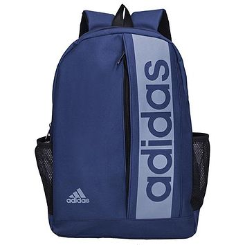 ADIDAS 2019 new sports training backpack Blue
