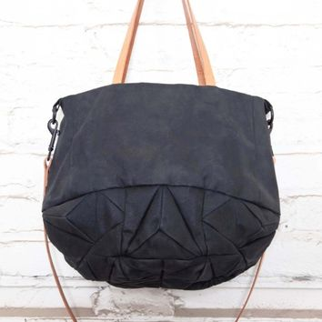Supermarket: Waxed cotton Tote bag from Genevieve Savard