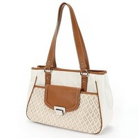 Nine and Co. Woven Satchel