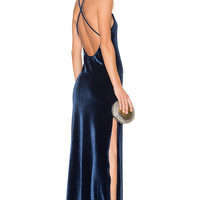 NBD x REVOLVE In The Deep Maxi Dress in Navy
