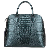 Lixmee Genuie Leather Alligator Fashon Outdoor Tote Bag