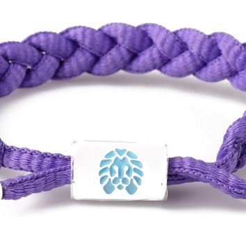 Rastaclat Gusher Purple MiniClat Women Kids Braided Shoelace Bracelet RCW001GSHR