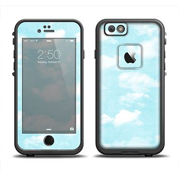 The Vintage Cloudy Skies Apple iPhone 6 LifeProof Fre Case Skin Set