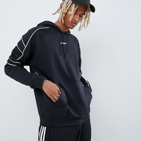 adidas Originals EQT Outline Hoodie In Black DH5216 at asos.com