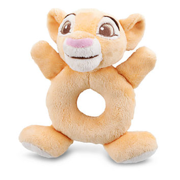 Disney Simba Plush Rattle for Baby | Disney Store
