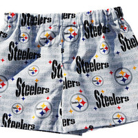 "NFL Pittsburgh Steelers ""cotton"" White Boxers for Toddlers and Boys, Boxers, Briefs, Underwear"