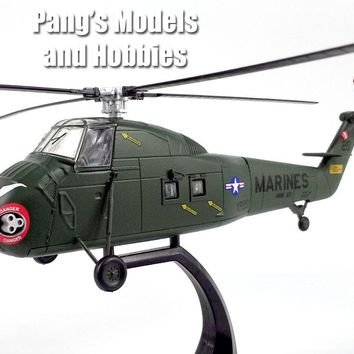 Sikorsky UH-34 Seahorse - Sea Horse - Marines - 1/72 Scale Diecast Helicopter Model by Atlas