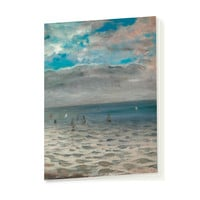 """Delacroix """"The Sea from the Heights of Dieppe"""" - Notebook"""
