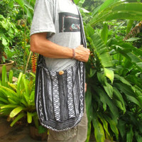 Men's Large Tribal Cotton Shoulder Buddha Bag Hobo Sac Hipster Hippie Festival | eBay