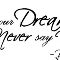 #2 Justin Bieber Follow your dreams and never say never. cute music wall art wall sayings quotes