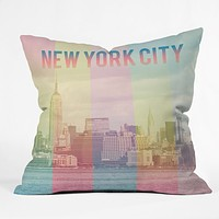 Catherine McDonald New York City Throw Pillow