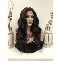 Brown Front Lace Wig 18"