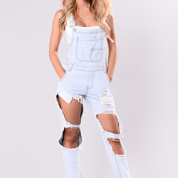 Mimosa Overall - Light Blue
