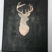 canvas, acrylic, painting, original painting, canvas art, canvas painting, acrylic painting, reindeer