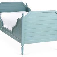 Turquoise Beach House Bed, Twin, Panel Beds