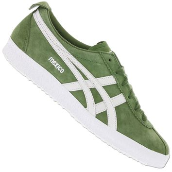ASICS ONITSUKA TIGER MEXICO DELEGATION 66 d6e7l-8301 Chaussures baskets vert