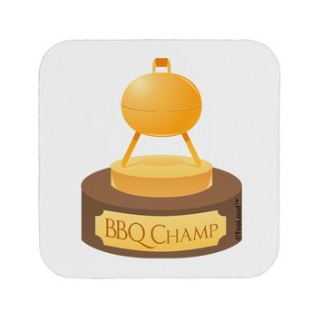 BBQ Champ - Golden Grill Trophy Coaster by TooLoud