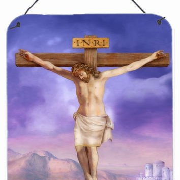 Easter Jesus Crucifixion Wall or Door Hanging Prints APH4517DS1216