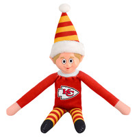 Kansas City Chiefs Plush Elf
