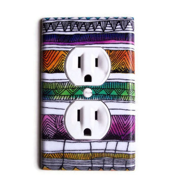 Southwestern 2 Outlet Plate, wall decor