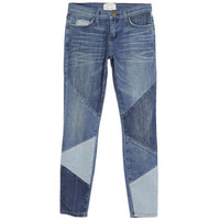 Current Elliot The Stiletto Patchwork Jeans - ShopBAZAAR