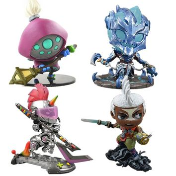LOL League of Legends figure Action Game Jax mini Model Collection Toy action-figure 3D Game Hero anime party Decoration Gift