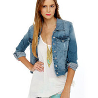 Billabong Nova Denim Jacket - Jean Jacket - $89.50