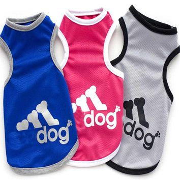 New Fashion Sports dog clothes costume