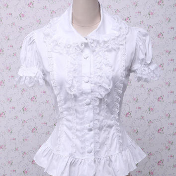 French Victorian Style Blouse