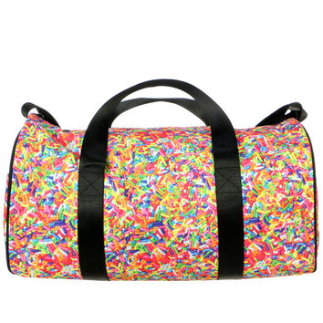 SPRINKLE DUFFLE BAG