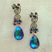 Midnight Firefly Earrings