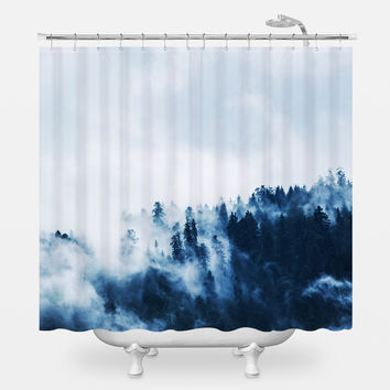 So Far From Safe Shower Curtain