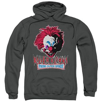 Killer Klowns From Outer Space - Rough Clown Adult Pull Over Hoodie